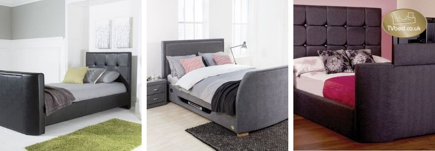 How does a TV bed work