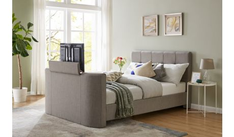 Alpha TV Bed in Grey