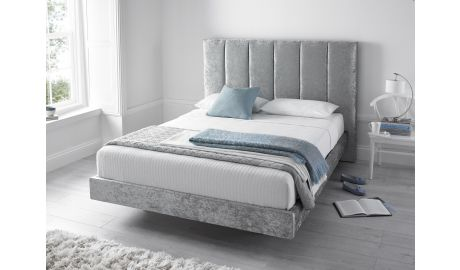 Kaydian Clarice Crushed Velvet Bed - Free Delivery