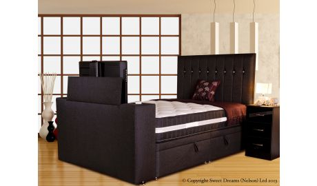 Vision Sparkle Ottoman TV Bed
