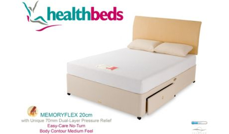 Health Beds Memory Flex Mattress