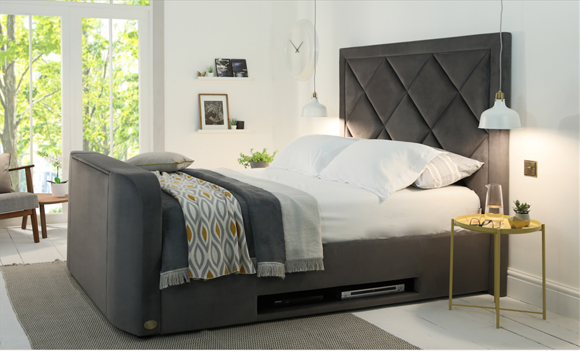 Tv Beds World S Largest Range Of, Queen Size Tv Bed