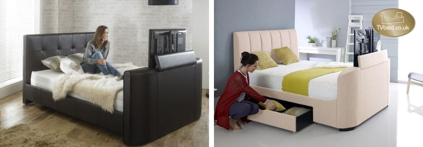 Double TV Beds