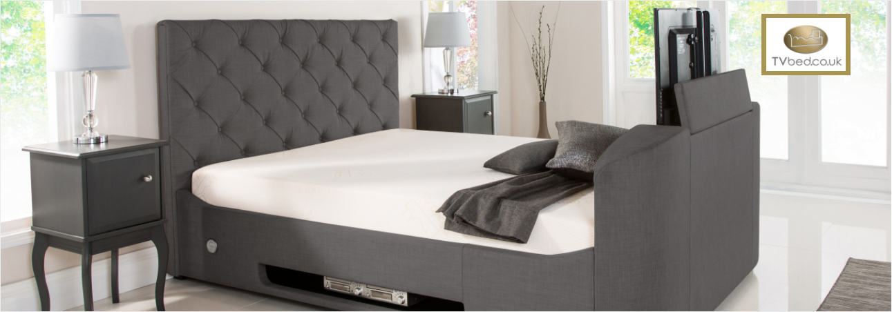 Add life to your bedroom with a TV bed